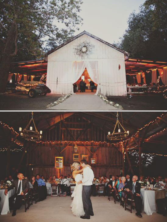 Rustic Barn Reception at Dos Pueblos Ranch