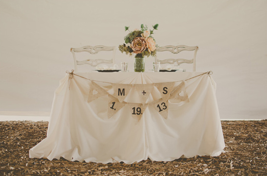 sweetheart table decoration ideas