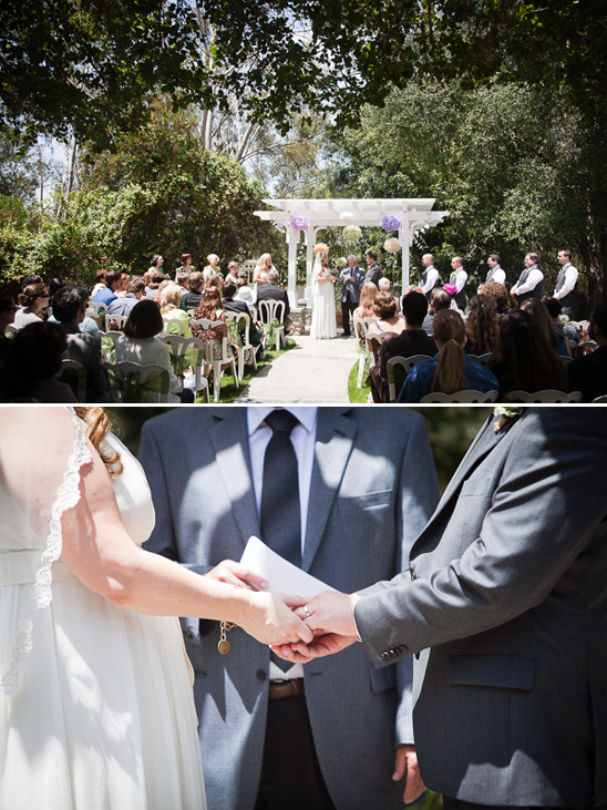 outdoor ceremony at Heritage Hill Historical Park
