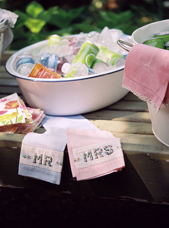 Mr. and Mrs. Table Cloths