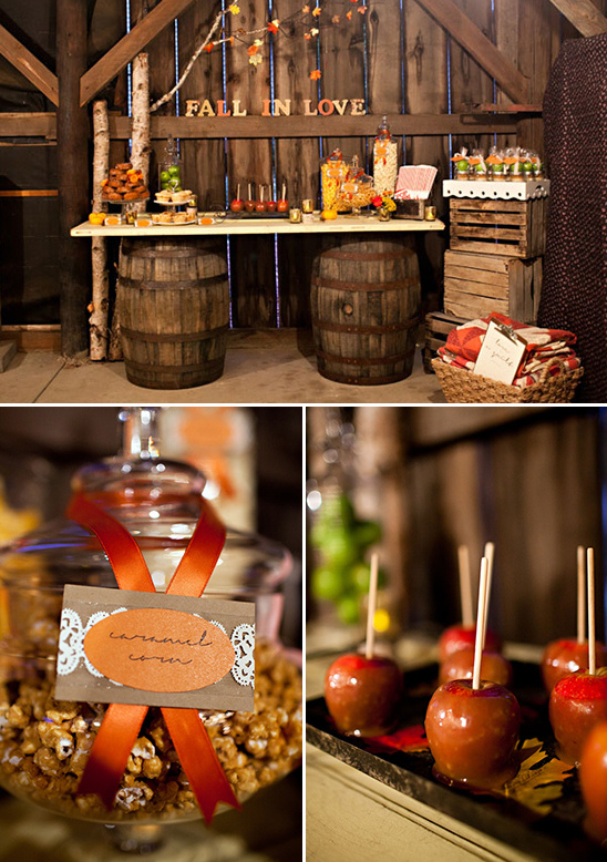 Rustic fall wedding ideas fall dessert table ideas junglespirit Gallery