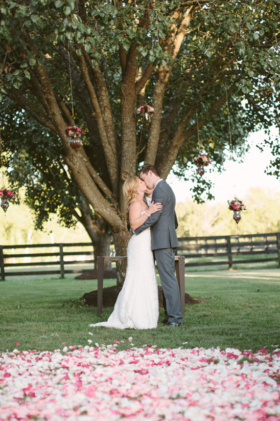 romantic outdoor ceremony decoration ideas