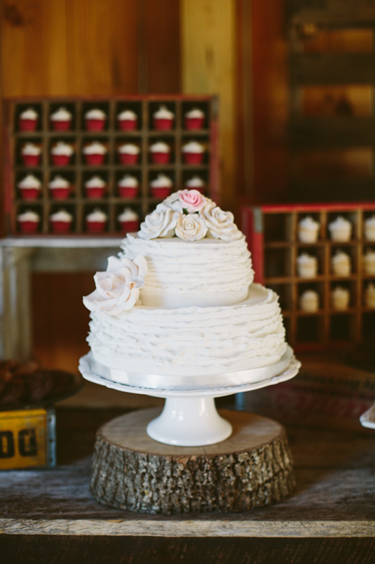 wedding cake from The Bake Shoppe