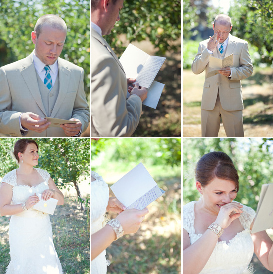 special wedding moment