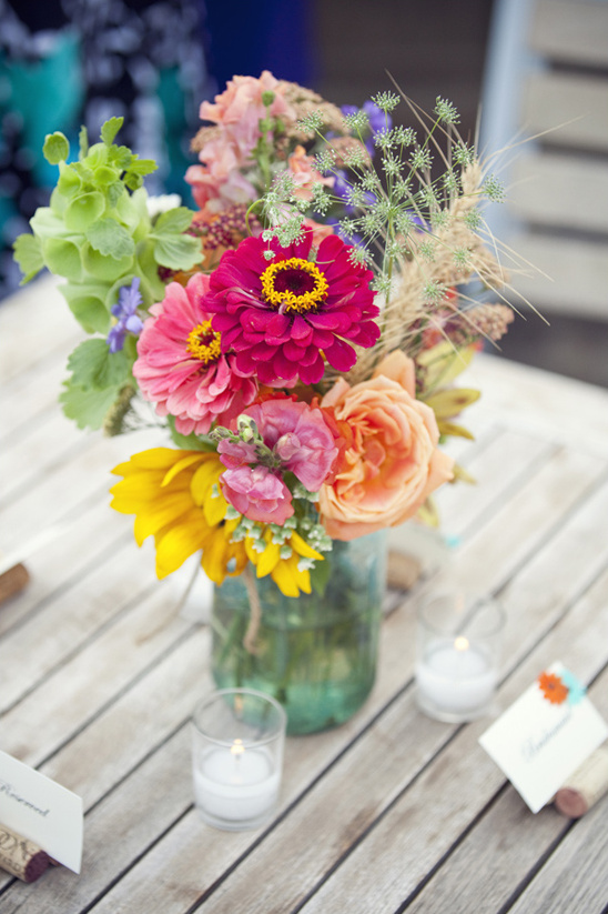 summery outdoor table decorations