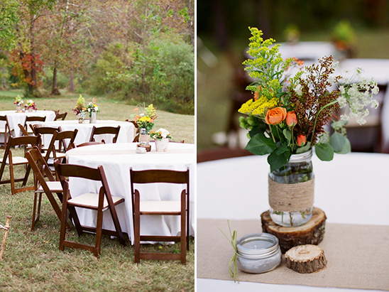 backyard wedding reception ideas