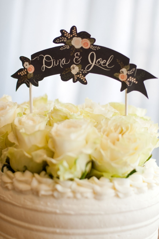 Cake Topper First Snow