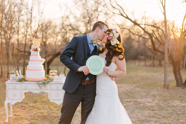 Whimsical Coral & Mint Wedding