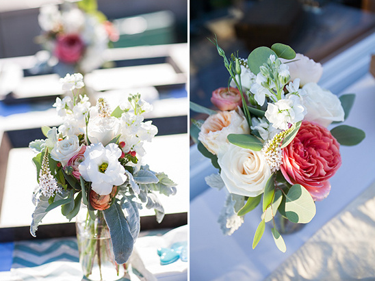pretty wedding florals