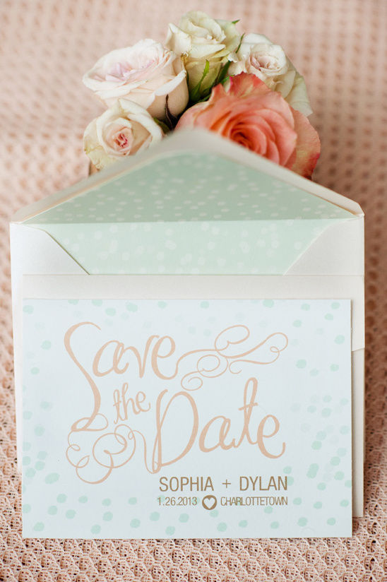 save the date by Kim Roach Designs