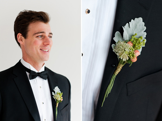 boutonniere by Prestige Floral Studio