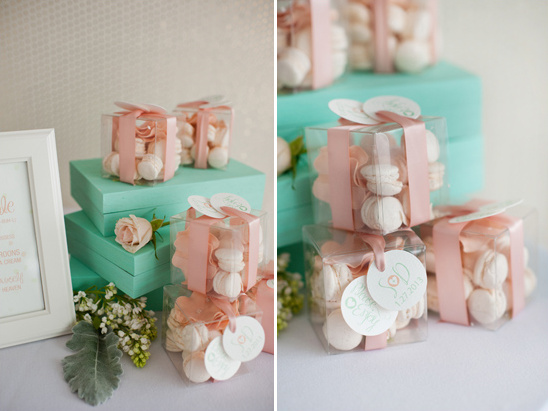Romantic Mint Peach And Gold Wedding Ideas