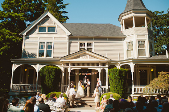 wedding at The Marshall House