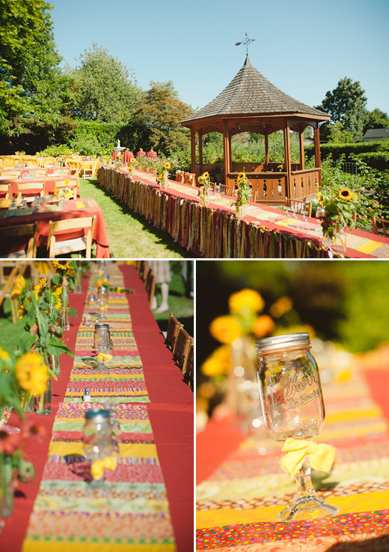 outdoor reception decoration ideas