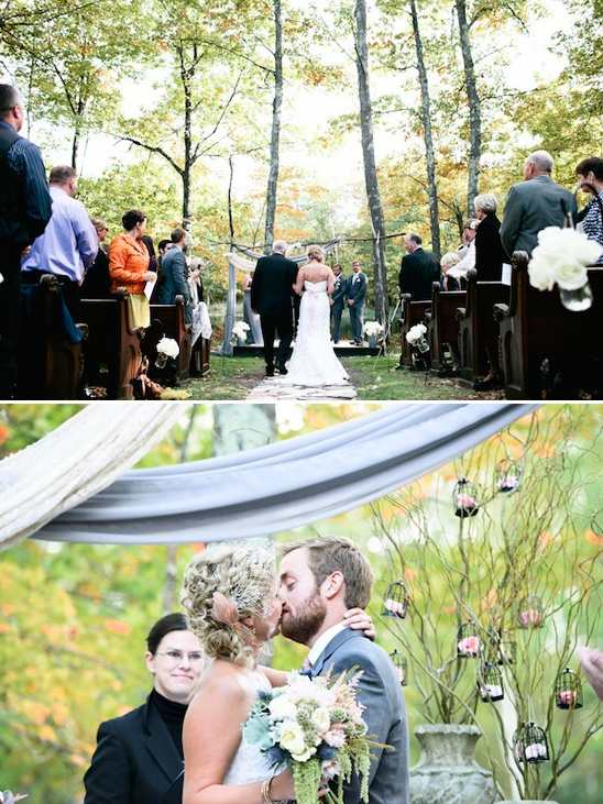 rustic outdoor ceremony ideas from Bash Collective