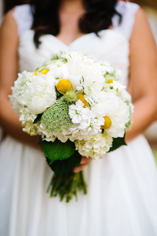 yellow and white bouquet by The Daily Flower