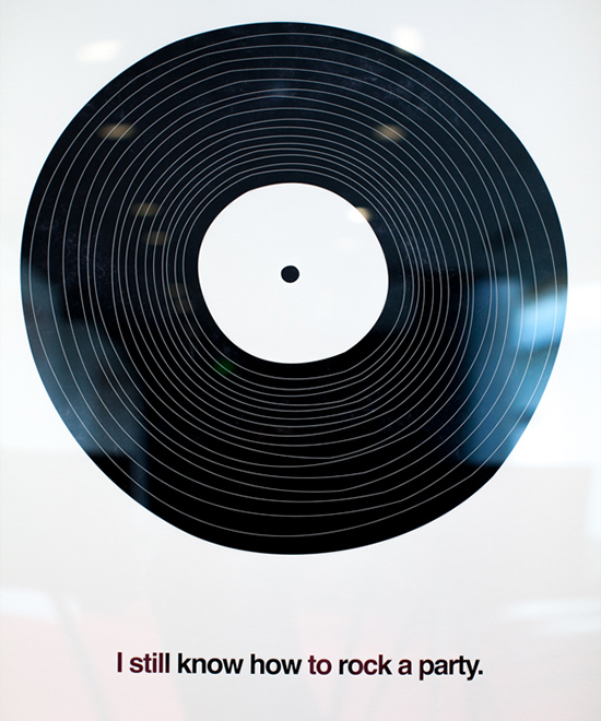record poster
