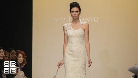 Ines Di Santo Fall/ Winter 2013 Runway Bridal Fashion New York