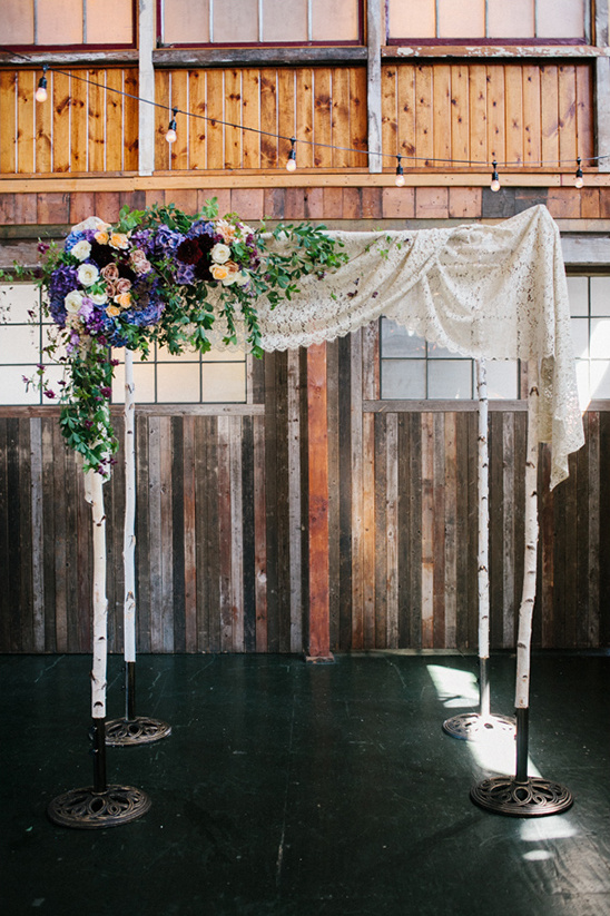 chuppah for Jewish ceremony