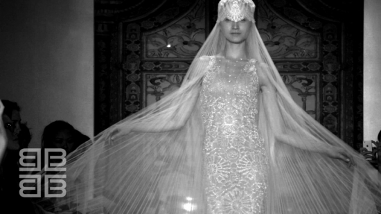 Reem Acra F/W 2013 Bridal Fashion NYC