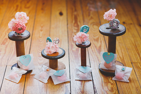 crafty wedding favors