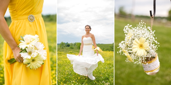 Yellow Farm Wedding Ideas