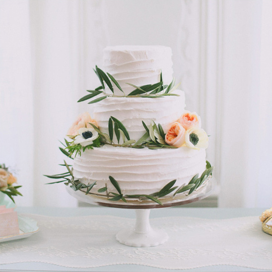 spring wedding cake by Cake-a-licious