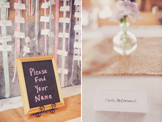 escort card and seating ideas