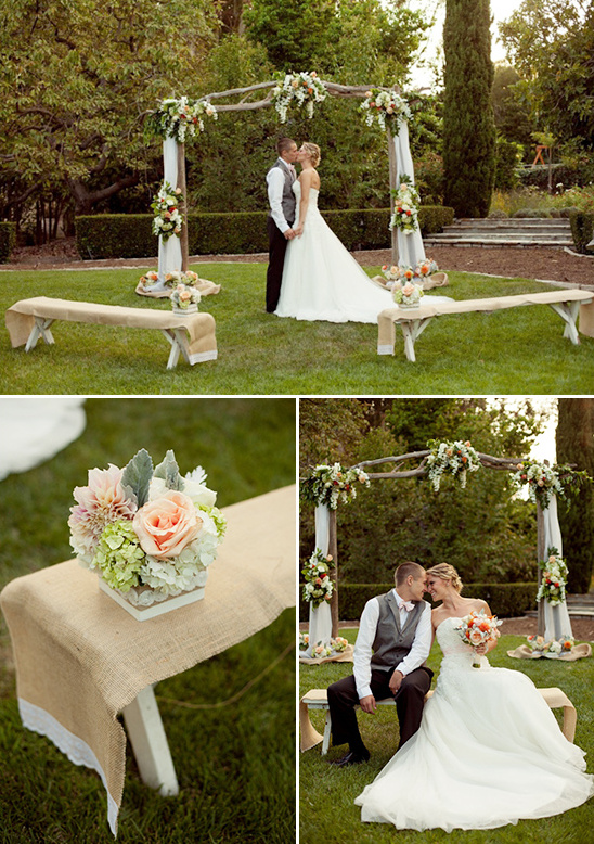 rustic ceremony wedding ideas