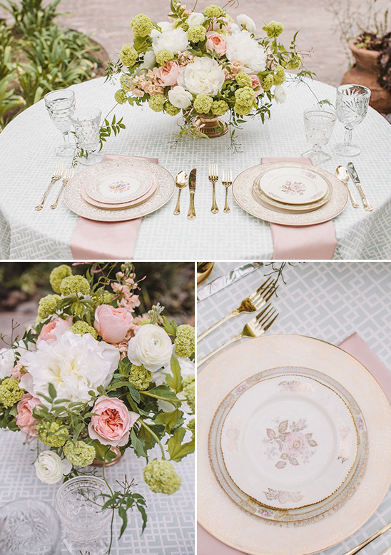 wedding china from Pretty Vintage Table