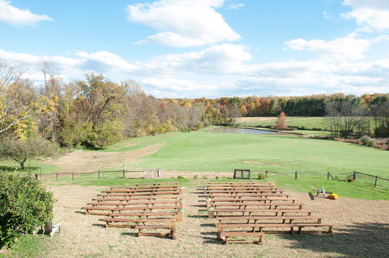 wedding at The Barns at Hamilton Station Vineyards