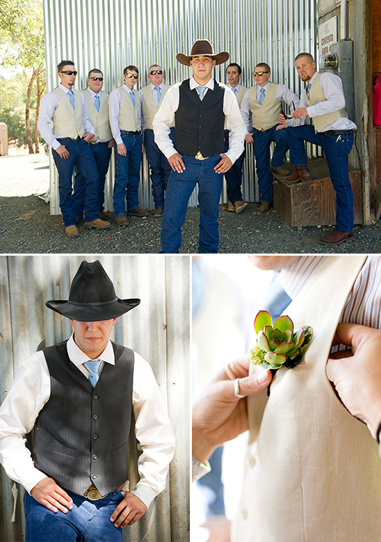 cowboy wedding attire