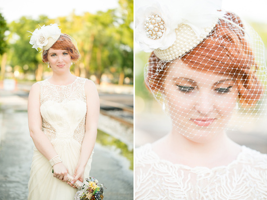 vintage bridal look by Eric Rey of Fusion Hair Design