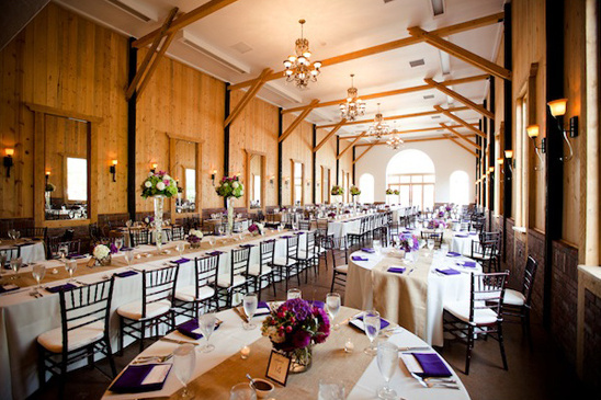 indoor wedding reception ideas