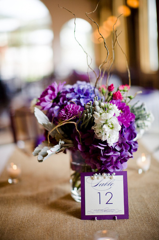 purple pearl table numbers