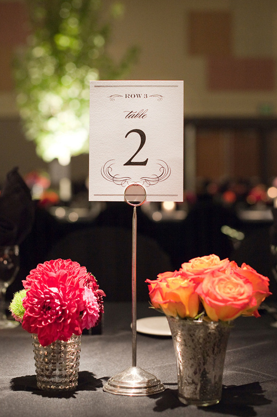 elegant table numbers