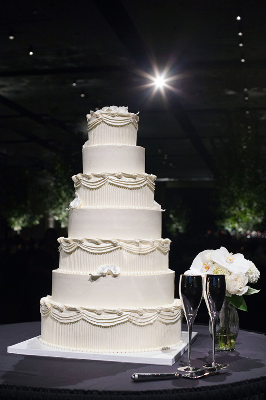 white wedding cake by Greg Marsh Designer Cakes