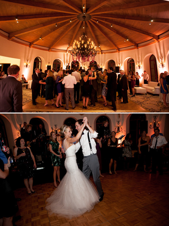 wedding dancing at Bacara Resort and Spa