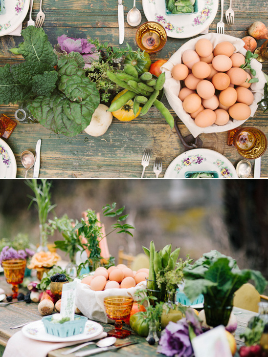 farm table decoration ideas