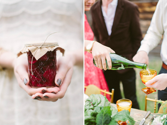 pickled beet wedding favors