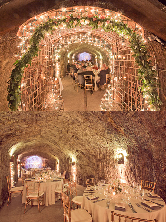 wine cellar reception