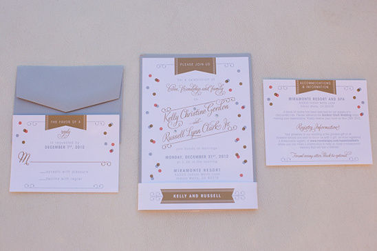 new years wedding invites