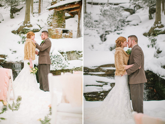winter wedding ceremony ideas