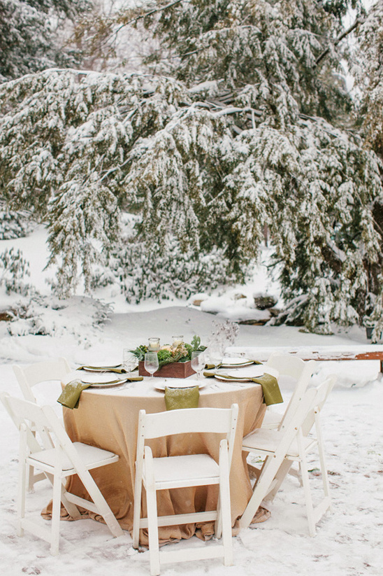 winter table decor ideas