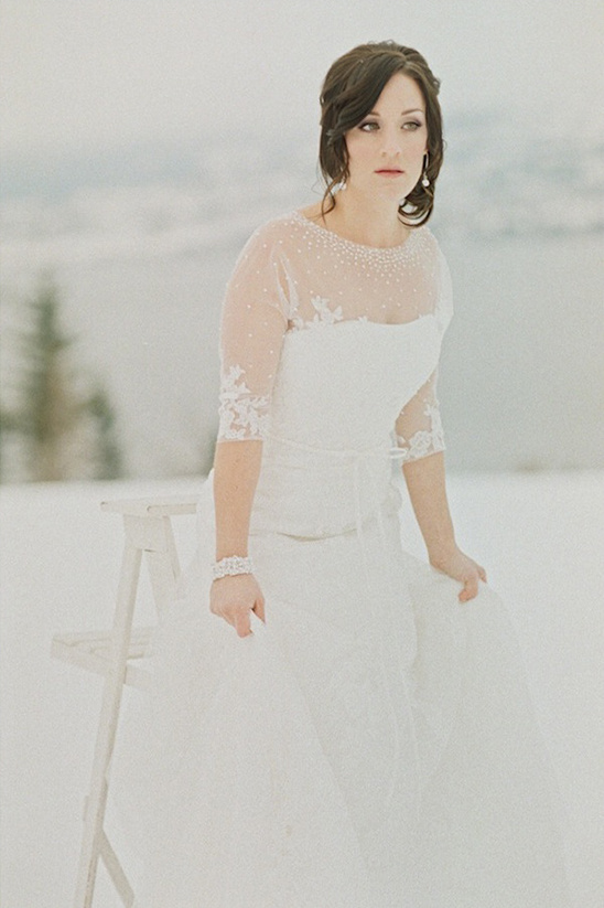 winter wedding dress