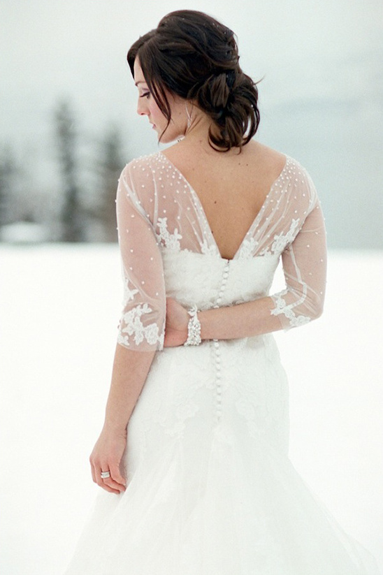 white lace wedding ideas