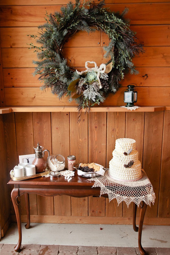 winter dessert table ideas