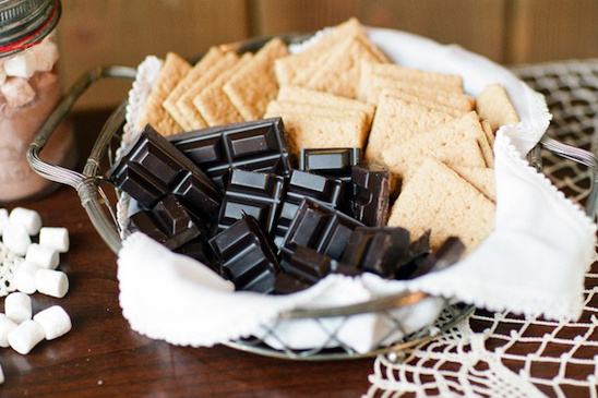 s'more fixings