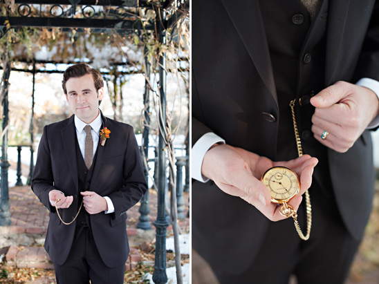 classy groom looks from Perfectly Suited by Garth