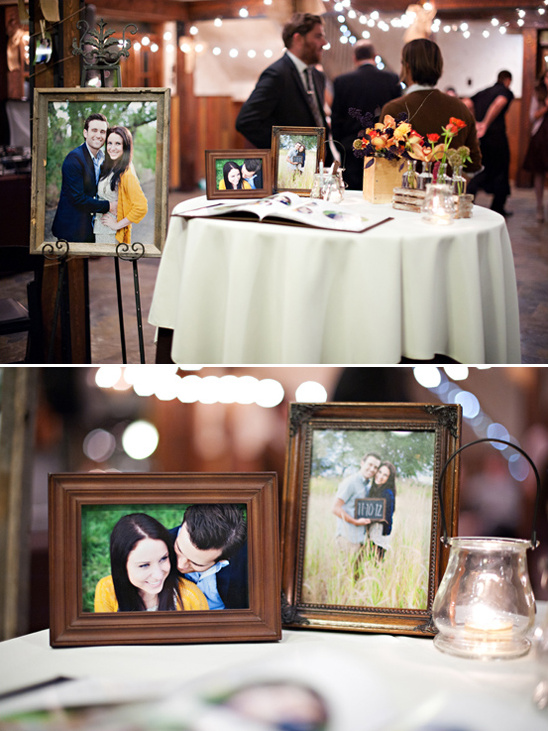 guestbook table ideas